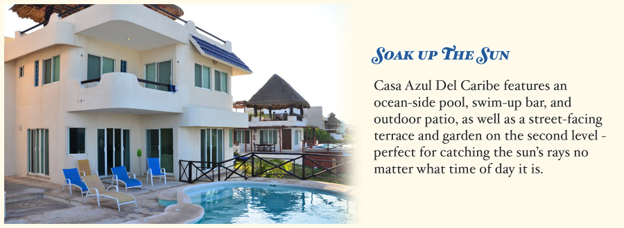Casa Azul Del Caribe | A luxurious rental home on Isla Mujeres, Mexico